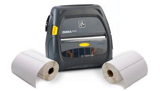 Zebra Mobile Printer Labels