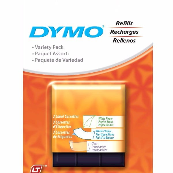Dymo 12331 LetraTag 3-Roll Starter Kit