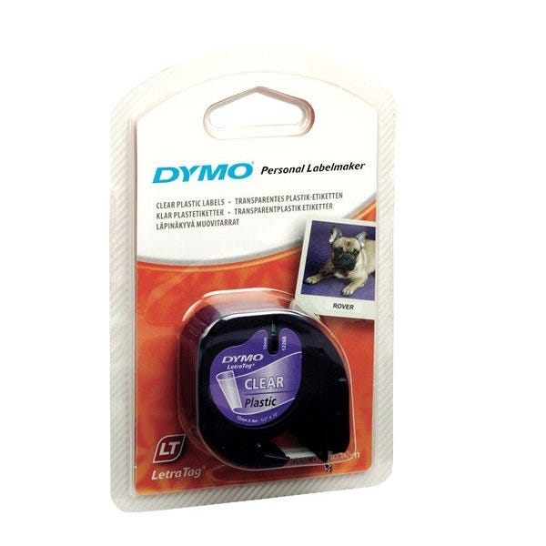Dymo 16952 Clear Plastic Tape