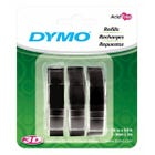 "3/8"" Black Glossy Embossing Tape 3-Pack"