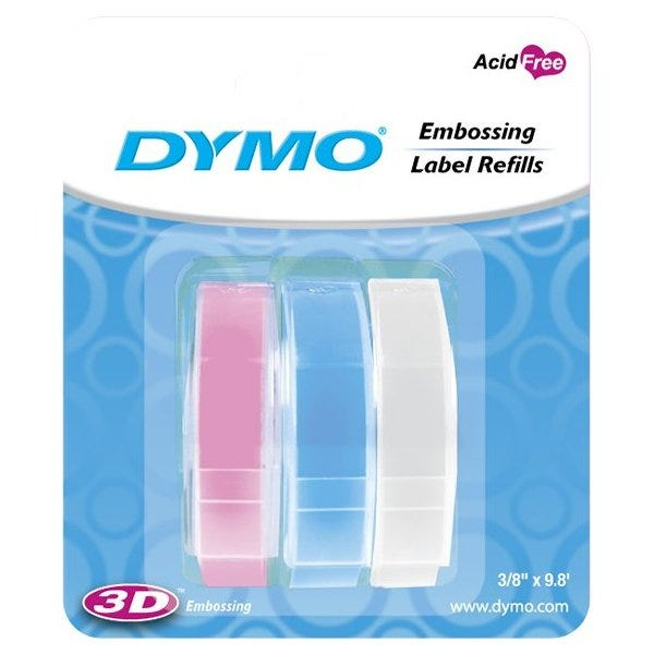"""3/8"""" Glossy Embossing Tape 3-Pack"""