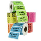 """Custom Printed 2"""" x 1"""" Labels & Stickers"""