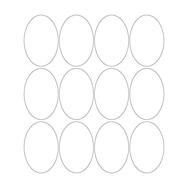 "Custom 2"" x 3"" Oval Labels"