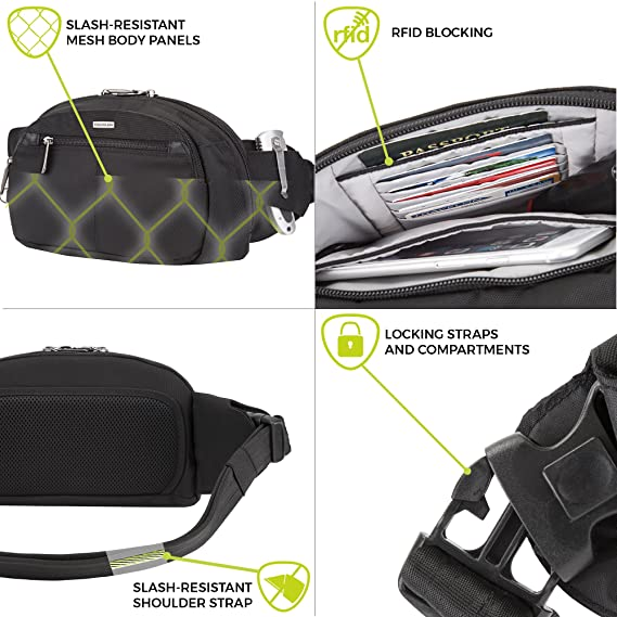 Travelon Anti-Theft Concealed Carry Waist Pack