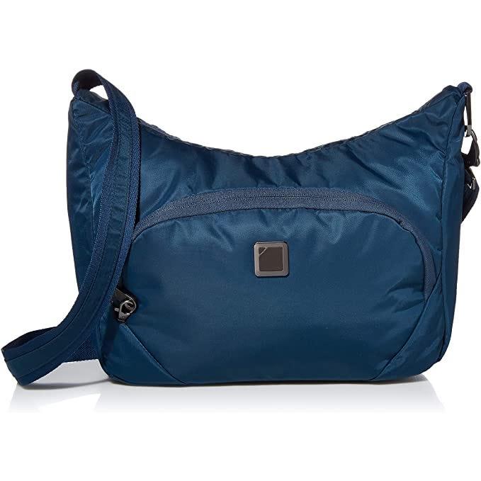 Secura Anti-Theft Crossbody Bag, Onyx Color