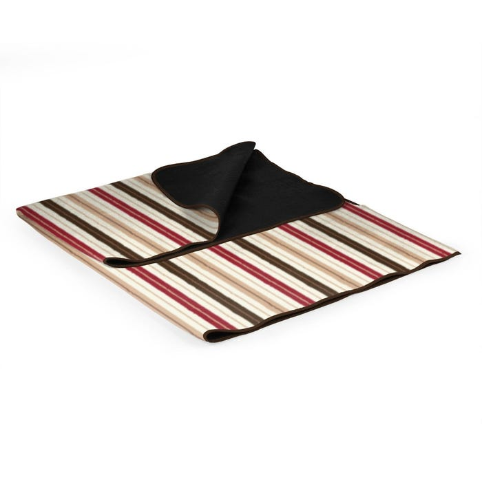 Striped Blanket Tote
