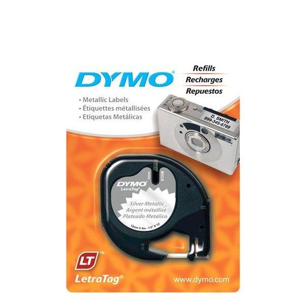 Dymo 91338 Silver Metallic Tape