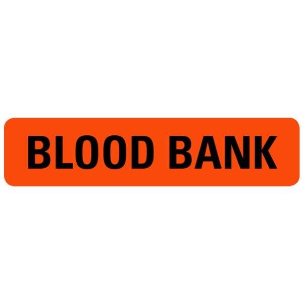Blood Bank Medical Labels