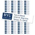 Brigham Young University Custom Return Address Labels
