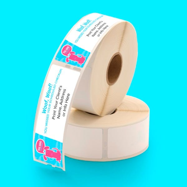 Custom printed 30252 address labels