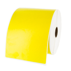 "Yellow Zebra Shipping Labels 4"" x 6"" - LV-10010060"