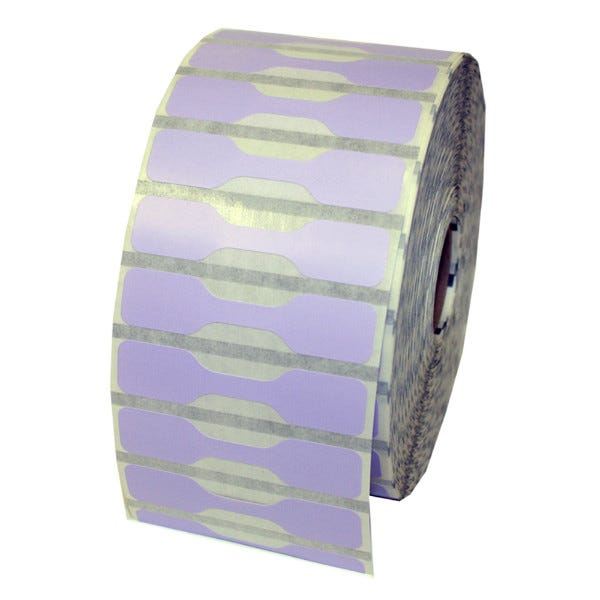 Zebra Lavender Jewelry Labels - Barbell Style - LV-10010064