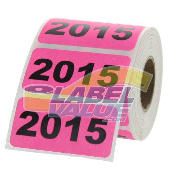 "2015 Inventory Labels 2"" x 1"""