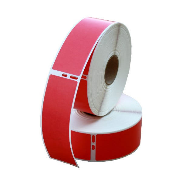Dymo LV-30252 Red Compatible Address Labels