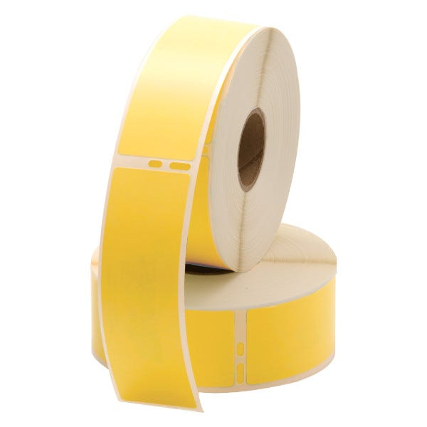 Dymo LV-30252 Yellow Compatible Address Labels