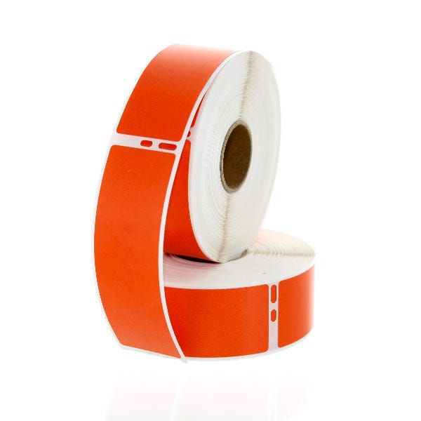 Dymo LV-30252 Compatible Orange Address Labels