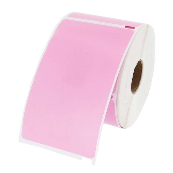 Dymo LV-30256 Pink Compatible Shipping Labels