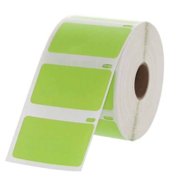 "Dymo LV-30334 Green 2-1/4"" x 1-1/4"" Labels"