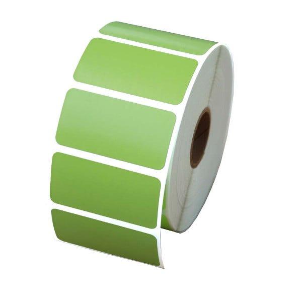 "Zebra 2"" x 1"" Green Labels - LV-56001G"