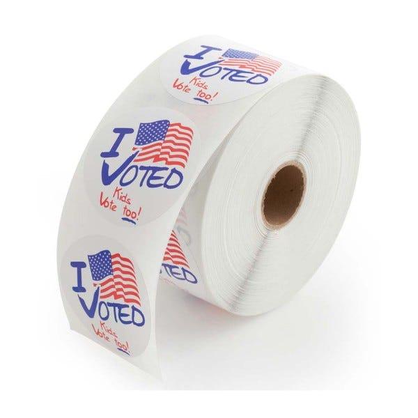 Kids Vote Too! Stickers