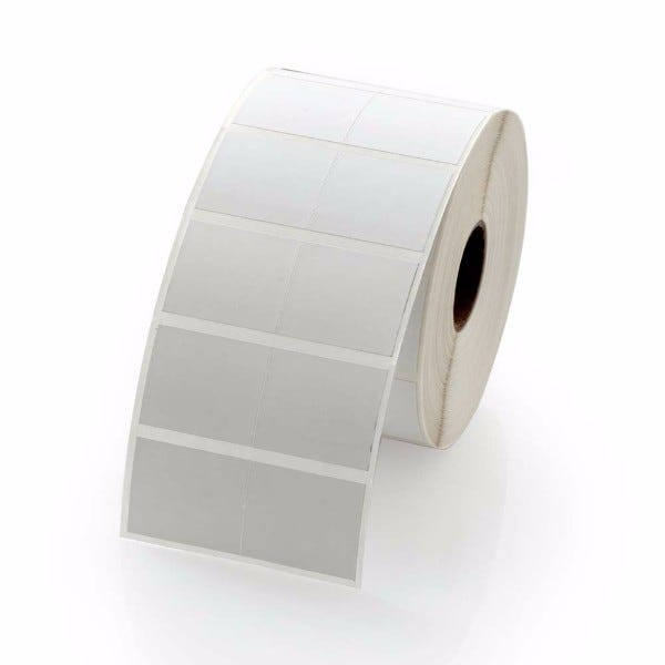 "Zebra 1-3/16"" x 1"", Small 2-Up Labels - LV-800999-080"
