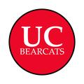 """University of Cincinnati 1-1/2"""" Labels"""