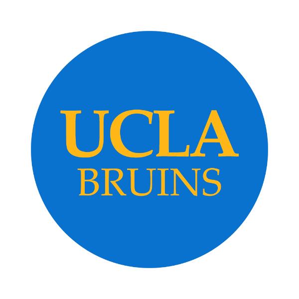 "University of California-LA 1-1/2"" Labels"