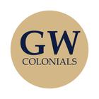 """George Washington University 1-1/2"""" Labels"""