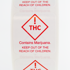 Colorado THC Recreational Marijuana Warning Labels