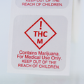 Colorado THC Medical Marijuana Warning Labels