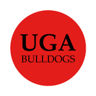"University of Georgia 1-1/2"" Labels"