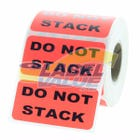 "DO NOT STACK Inventory Labels 2"" x 1"""