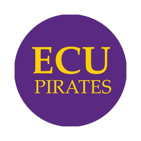 "East Carolina University 1-1/2"" Labels"