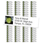 Frankenstein Halloween Return Address Labels