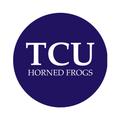 "Texas Christian University 1-1/2"" Labels"