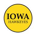 "University of Iowa 1-1/2"" Labels"