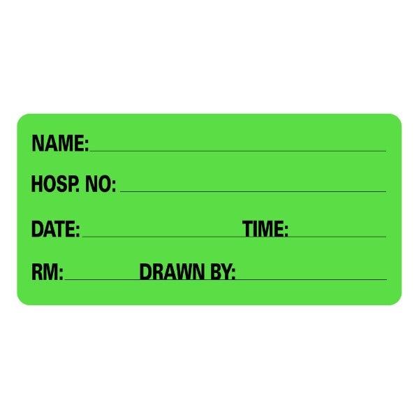 Name Information Medical Labels