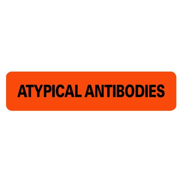 ATYPICAL ANTIBODIES Medical Labels