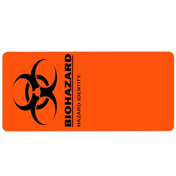 Biohazard Hazard Identity Medical Labels