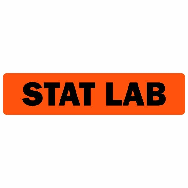 Stat Lab Medical Labels