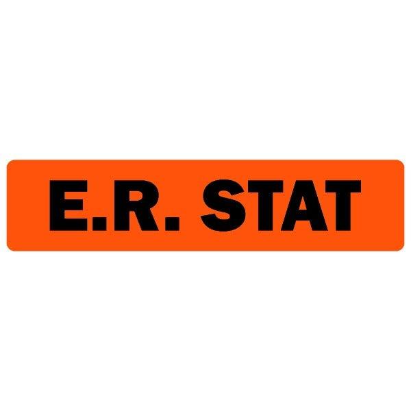 E.R. Stat Medical Labels