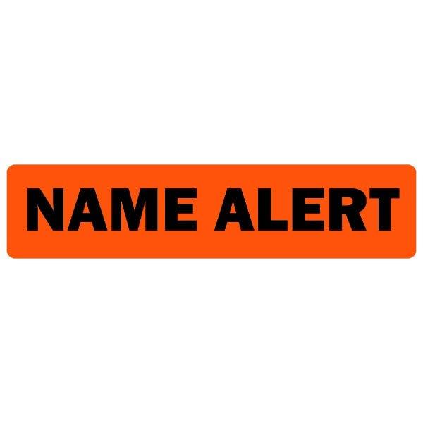 Name Alert Medical Labels