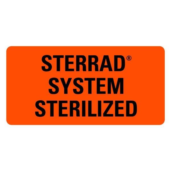 Sterrad System Sterilized Medical Labels