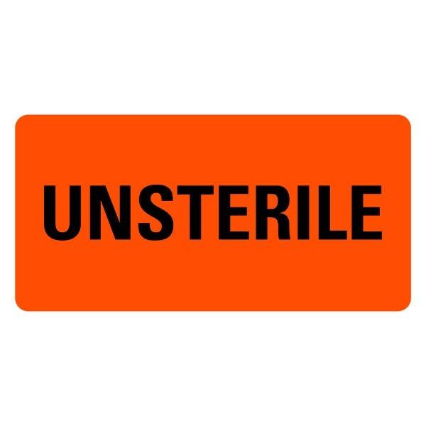 UNSTERILE Medical Labels