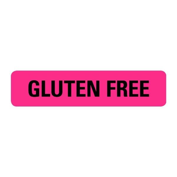Gluten Free Food Service Medical Labels