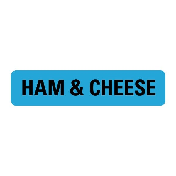 Ham Cheese Food Service Medical Labels