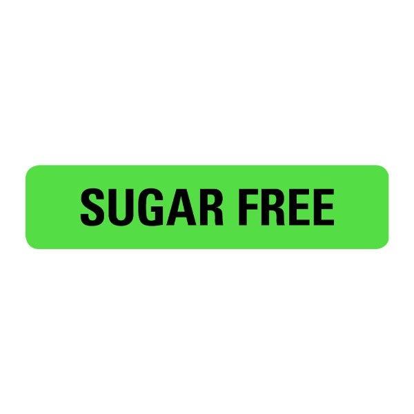 Sugar Free Food Service Medical Labels