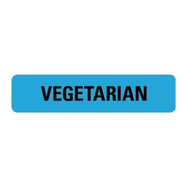 Vegetarian Food Service Medical Labels