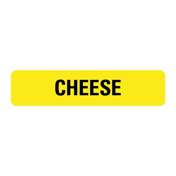 Cheese Food Service Medical Labels