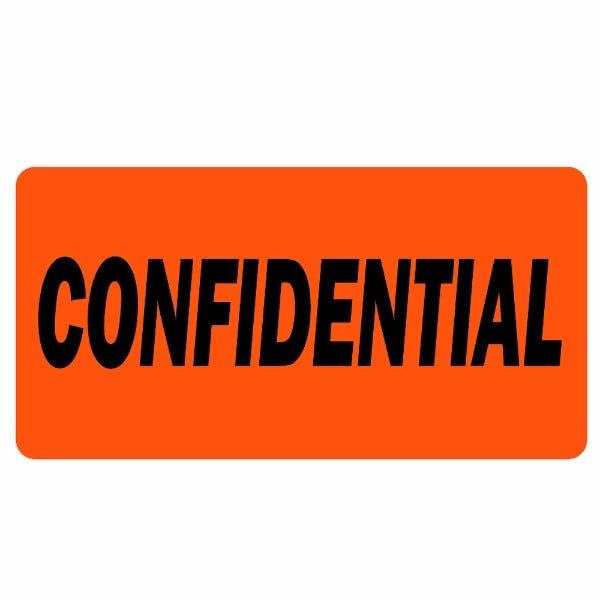 Confidential Labels
